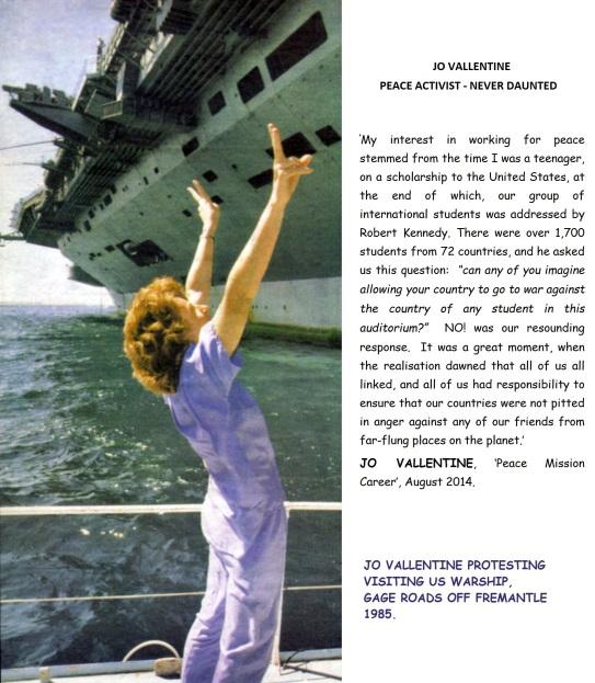 Jo Vallentine US Warships Gage Roads